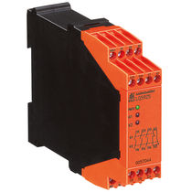Safety relay / 4 NO / configurable / emergency stop