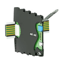 DIN rail enclosure / modular / in plastic / electronic equipment