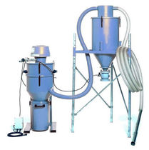 Filter dust collector / pneumatic backblowing / vacuum / self-cleaning