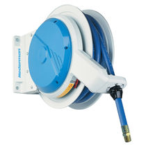 Hose reel / self-retracting / side-mount / for air
