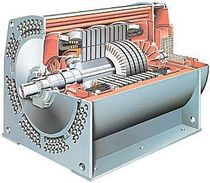 AC motor / asynchronous / 10000 V / squirrel cage