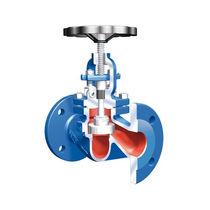 Globe valve / with handwheel / stop / for water