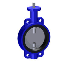 Shut-off valve / manual / electric / pneumatically-operated