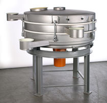 Circular vibrating screener / for powders / for industry