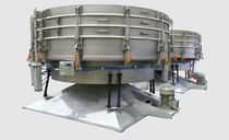 Tumbler screener / for bulk materials / for pharmaceutical applications