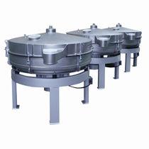 Tumbler sifter / for bulk materials