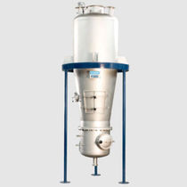 Fluidized bed dryer / dough / suspension