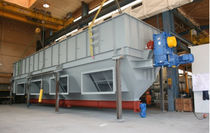 Fluidized bed dryer / rolling bed