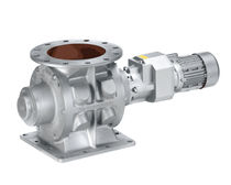Pneumatic conveying rotary valve / round-flange / explosion-proof