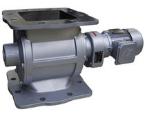 Multi-purpose rotary valve / for dust collectors / square-flange
