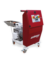 Knife plastic granulator / waste / horizontal / beside-the-press