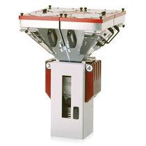 Granulates batch blender / gravimetric / for the plastics industry