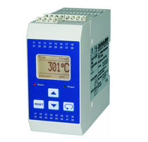 Digital temperature limiter / programmable / safety