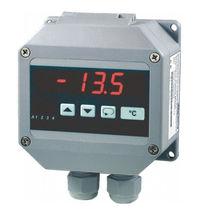 Temperature indicator / digital / in-line / with alarm