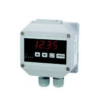 In-line conductivity meter / pure water