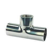 Weld-on fitting / T / hydraulic