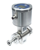 Magnetic-inductive flow meter / for liquids / for solids / compact