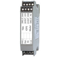 DIN rail signal conditioner / for sensors / for piezoelectric transducers
