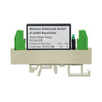 Switching relay module / DC / solid-state / DIN rail mounted