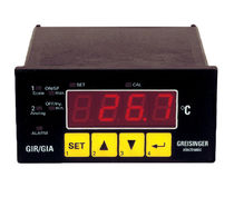 Universal indicator controller / frequency / digital / recessed