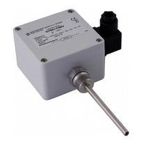 Pt100 temperature probe / Pt1000 / thermocouple / wall-mount