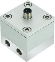 Differential pressure transmitter / piezoelectric / ceramic / analog