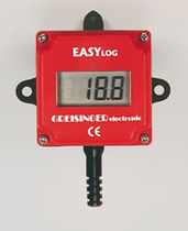 Temperature data-logger / RS-232C / with LCD display / IP65