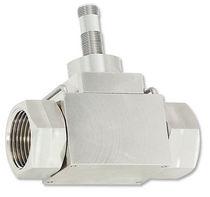 Vortex flow meter / for liquids / precision