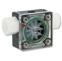 Flow indicator / impeller / direct-reading / in-line