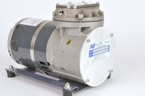 Diaphragm vacuum pump / single-stage / lubricated / industrial