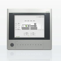 HMI terminal with touch screen / panel-mount / TFT LCD / control