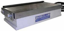 Electro-permanent magnetic chuck / rectangular / for grinding