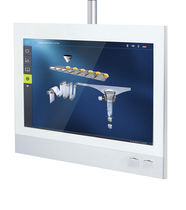 Multitouch screen operating panel / arm-mounted / 1024 x 768