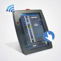 Multitouch screen operating panel / mobile