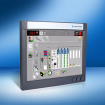 Operator terminal with touch screen / panel / display / control