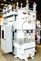 Power transformer / encapsulated / floor-standing / three-phase