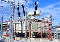 Distribution transformer / power / immersed / floor-standing