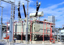 Power transformer / distribution / encapsulated / floor-standing