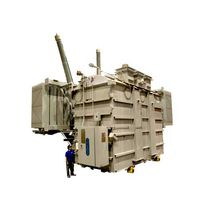 Distribution transformer / immersed / floor-standing / medium-voltage