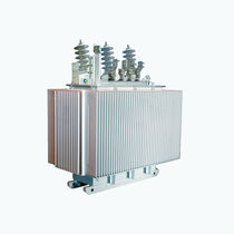 Distribution transformer / oil-filled / floor-standing / three-phase