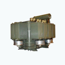 Power transformer / encapsulated / in-line / three-phase