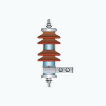 Medium-voltage surge arrester / for power supplies