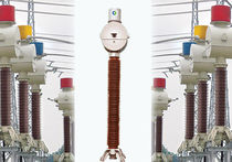 Instrument transformer / column type / in-line / high-voltage
