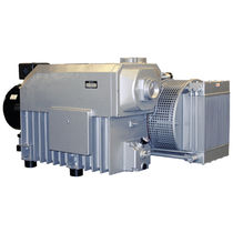 Rotary vane vacuum pump / lubricated / single-stage / direct-drive