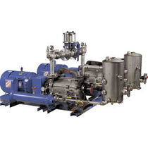 Liquid ring pump vacuum unit / industrial