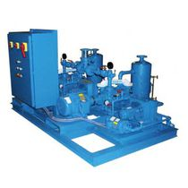 Liquid ring pump vacuum unit / industrial / silent