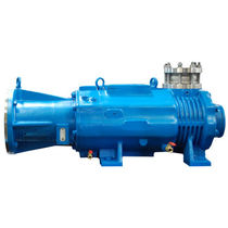Screw vacuum pump / dry / single-stage / industrial