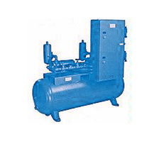Liquid ring pump vacuum unit / laboratory