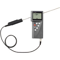 Thermocouple thermometer / digital / portable / industrial
