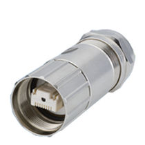 RF connector / RJ45 / straight / male